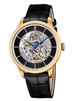 Perrelet First Class Skeleton automatic  vàng hồng 18k