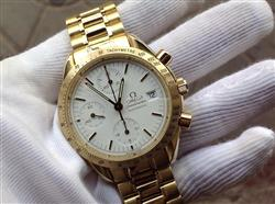 Omega Speedmaster chronograph automatic full 18k gold